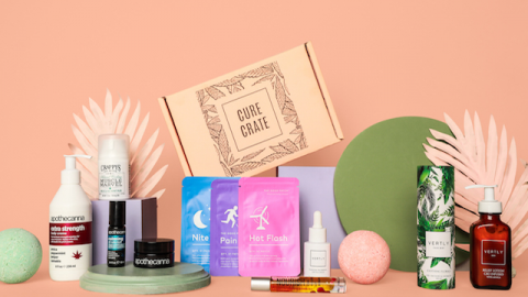 For Mom's, By Mom's: Cure Crate Offers a Mother's Day CBD Subscription Box From Mom-Founded CBD Brands