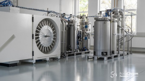 RotaChrom Technologies Completes CPC Separation With Food-Grade Solvents